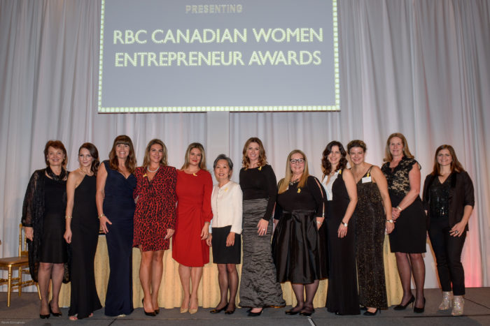 Winners Announced for the 2016 RBC Canadian Women Entrepreneur Awards! graphic