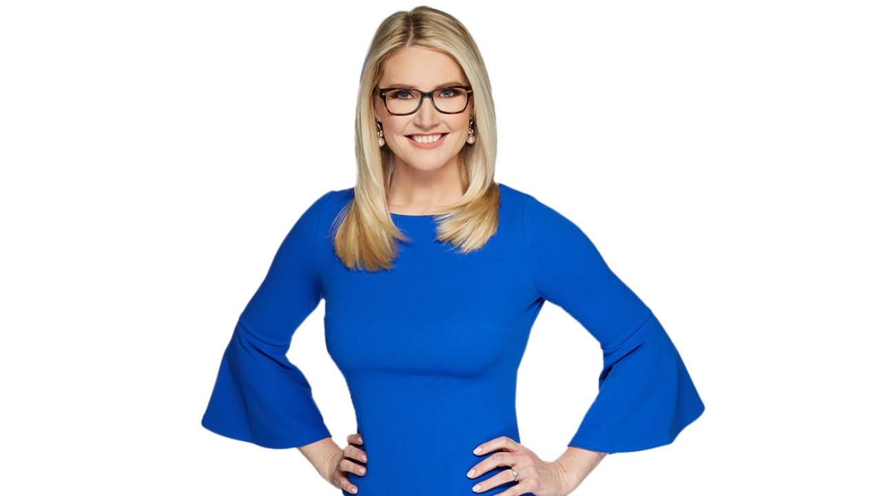 Five Minutes With Marie Harf, Political Analyst and Co-Host of Benson and Harf graphic